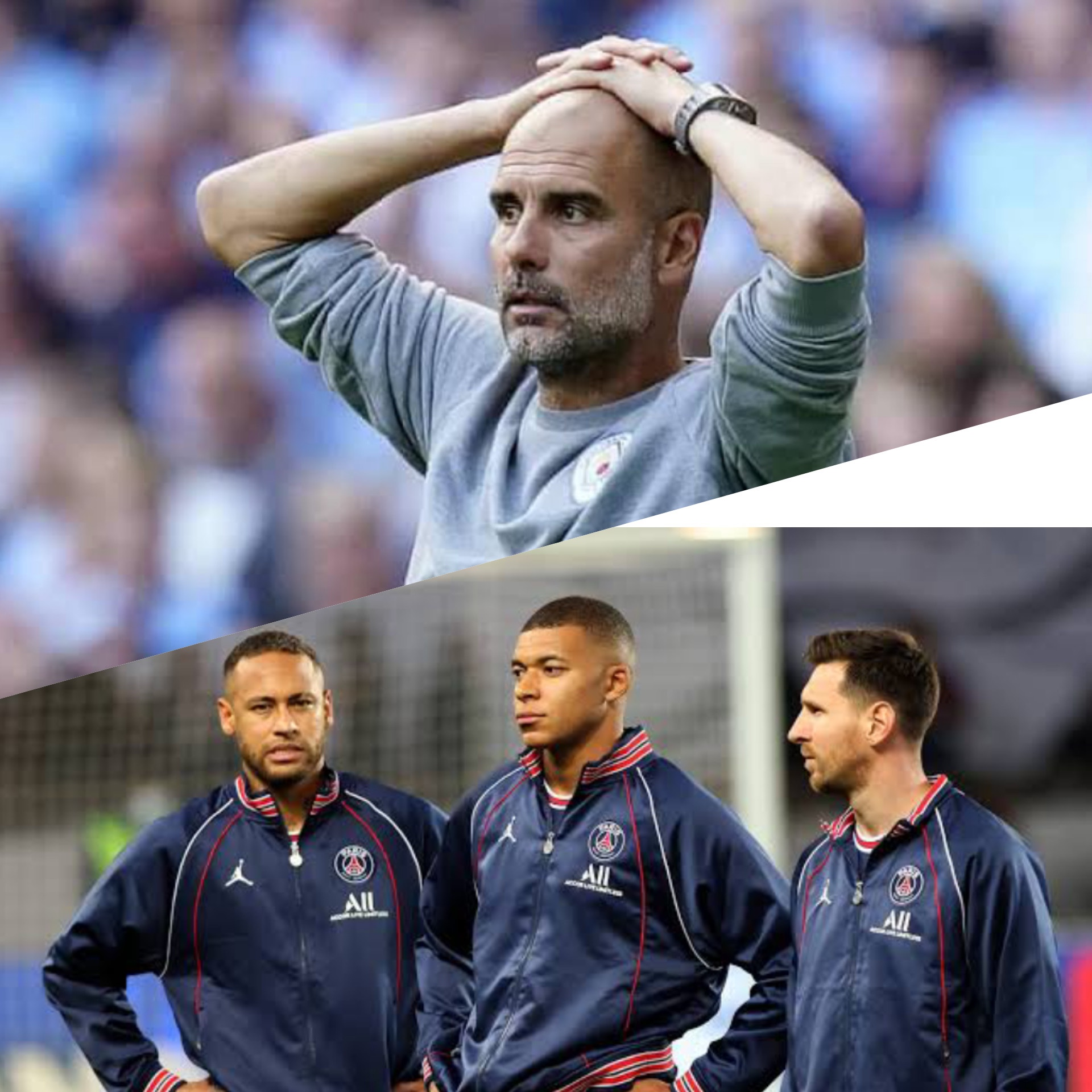 PSG vs Man City: I don't know how to stop Messi, Neymar, Mbappe – Pep Guardiola
