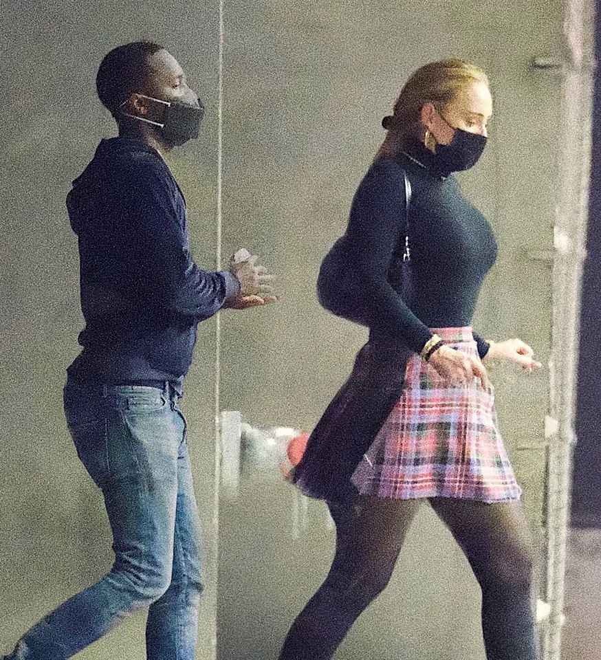 Adele spotted on an intimate date night with boyfriend, Rich Paul
