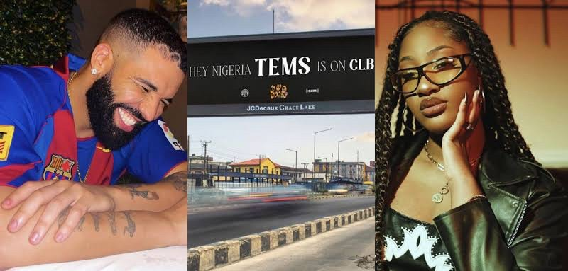 Canadian superstar, Drake features Tems on forthcoming album Certified Lover Boy