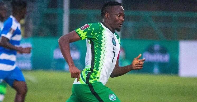 Nigeria vs Cape Verde: NFF admits error, says FIFA right on Ahmed Musa's record
