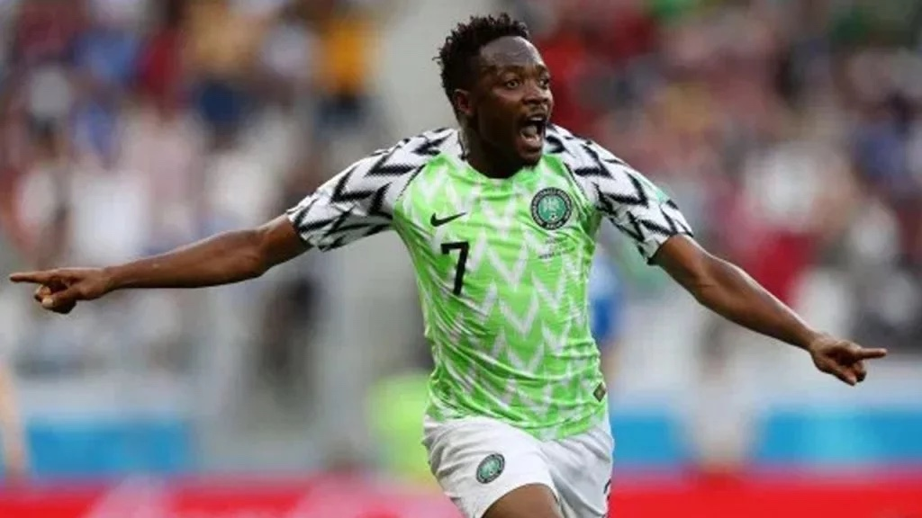Ahmed Musa gives Super Eagles' teammates N5m after Cape Verde win
