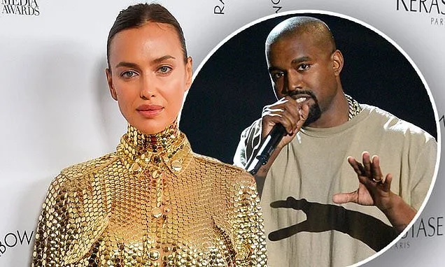 Irina Shayk dodges question about Kanye West romance weeks after their split