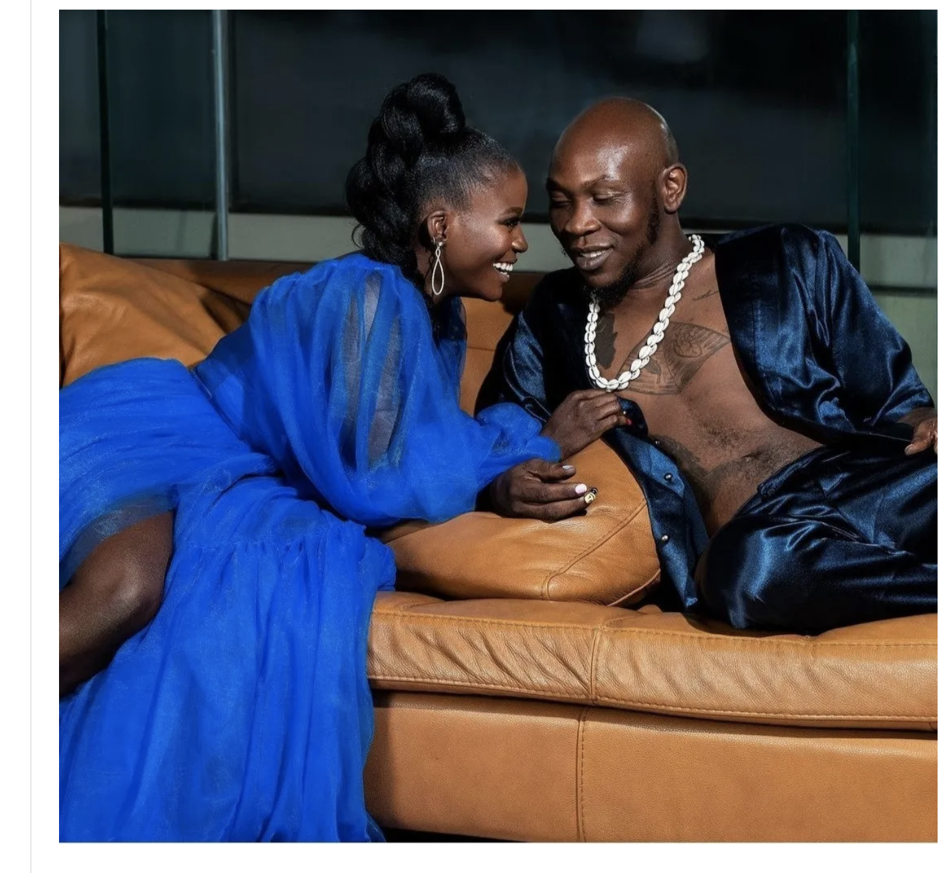 Seun Kuti reveals he has tied the knot with partner, Chef Yeide as she turns a year older today