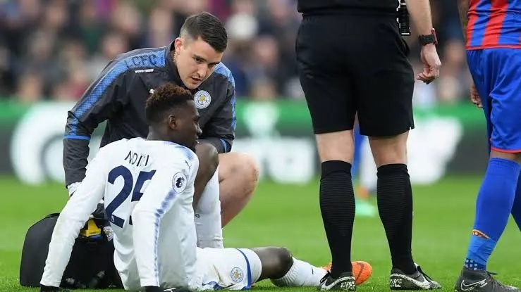 Super Eagle's Ndidi out for four weeks with hamstring injury