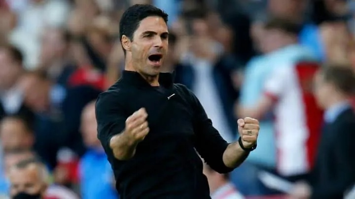 Arsenal's Mikel Arteta named Premier League manager of the month