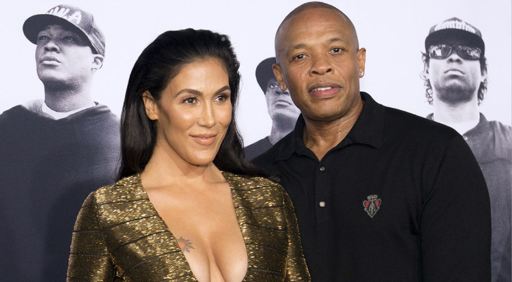 Dr. Dre served with divorce papers at grandmother's funeral