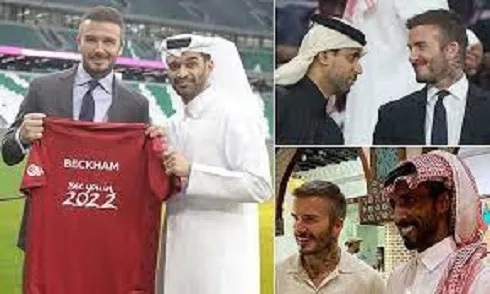 David Beckham to become face of 2022 FIFA World Cup after 'signing' a deal of £150m